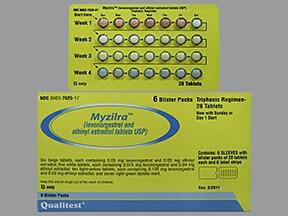 Myzilra 50-30 (6)/75-40(5)/125-30(10) tablet