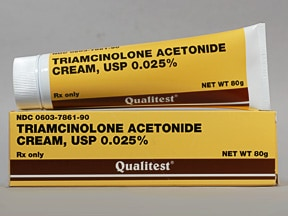 triamcinolone acetonide 0.025 % topical cream