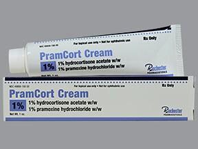 PramCort 1 %-1 % rectal cream