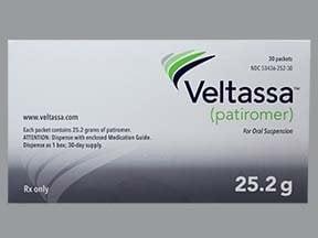 Veltassa 25.2 gram oral powder packet