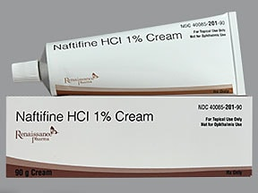 naftifine 1 % topical cream