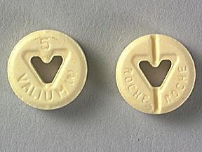 Valium 5 mg tablet