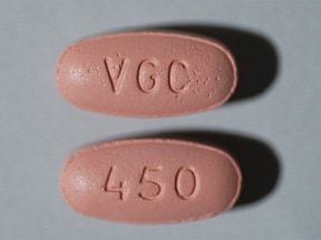 Valcyte 450 mg tablet