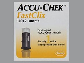 Accu-Chek Fastclix Lancet Drum