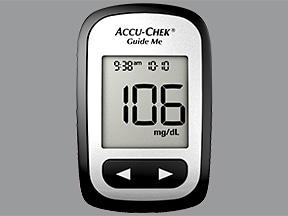 Accu-Chek Guide Me Glucose Meter