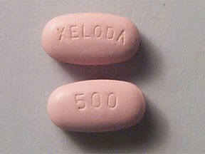 Xeloda 500 mg tablet