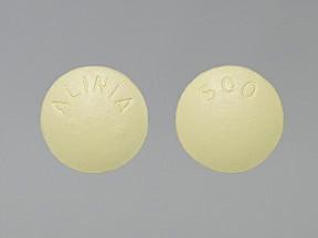 Alinia 500 mg tablet