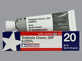 tretinoin 0.025 % topical cream
