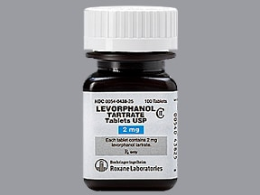 levorphanol tartrate 2 mg tablet