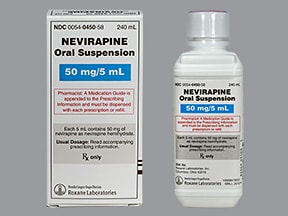 nevirapine 50 mg/5 mL oral suspension