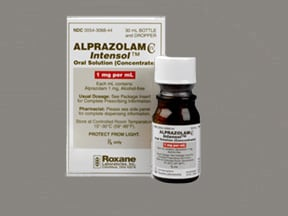 Alprazolam Intensol 1 mg/mL oral concentrate