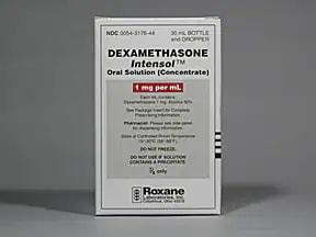 Dexamethasone Intensol 1 mg/mL Drops (concentrate)