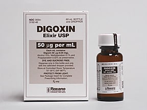 digoxin 50 mcg/mL oral solution