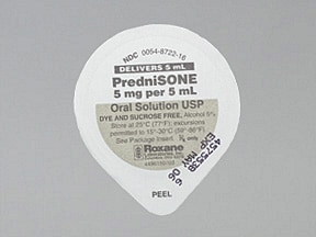 prednisone 5 mg/5 mL oral solution