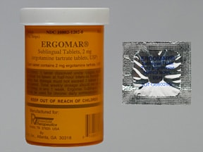 Ergomar Sublingual : Uses, Side Effects, Interactions