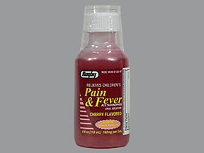 Children's Pain and Fever Relief 160 mg/5 mL oral liquid