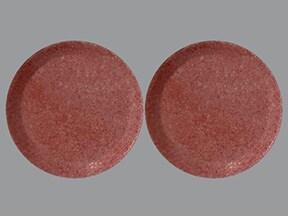 calcium carbonate 500 mg calcium (1,250 mg) chewable tablet