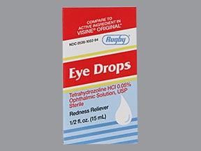 Eye Drops (tetrahydrozoline) 0.05 %