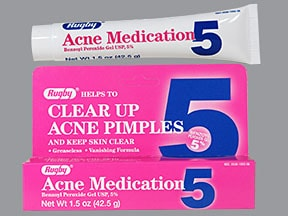 Acne Medication 5 % topical gel