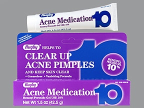 Acne Medication 10 % topical gel