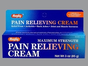 Pain Relieving (methyl salicylate-menthol) 15 %-1 % topical cream