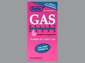 Gas Relief (simethicone) 40 mg/0.6 mL oral drops,suspension