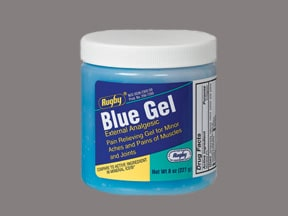 Blue Gel 2 % topical