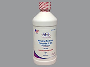 sodium fluoride 0.2 % dental solution