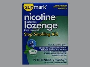 nicotine (polacrilex) 2 mg buccal lozenge