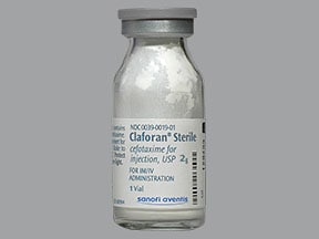 Claforan 2 gram solution for injection