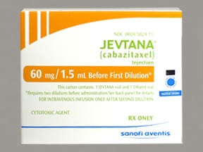 Jevtana 10 mg/mL (first dilution) intravenous solution