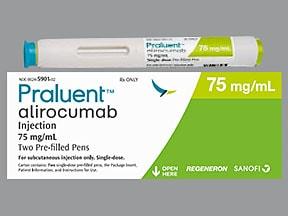 Praluent Pen 75 mg/mL subcutaneous pen injector