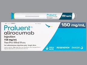 Praluent Pen 150 mg/mL subcutaneous pen injector