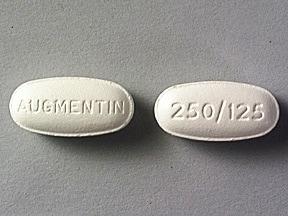 amoxicillin 250 mg-potassium clavulanate 125 mg tablet