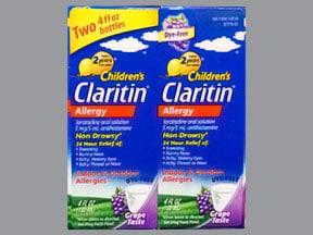 Children's Claritin 5 mg/5 mL oral solution