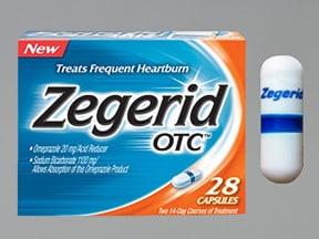 Zegerid OTC 20 mg-1.1 gram capsule