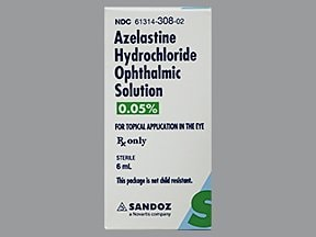 azelastine 0.05 % eye drops