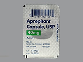 aprepitant 40 mg capsule