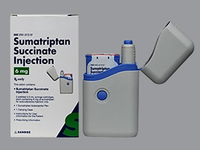 sumatriptan 6 mg/0.5 mL subcutaneous pen injector