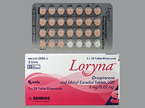 Loryna (28) 3 mg-0.02 mg tablet