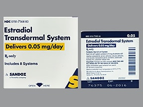 Estradiol Transdermal Uses Side Effects Interactions