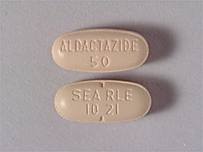 Aldactazide 50 mg-50 mg tablet