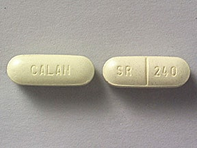 Calan SR 240 mg tablet,extended release