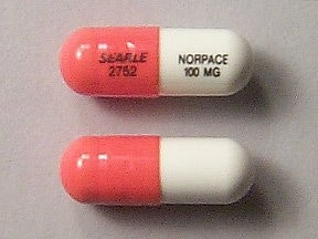 Norpace 100 mg capsule