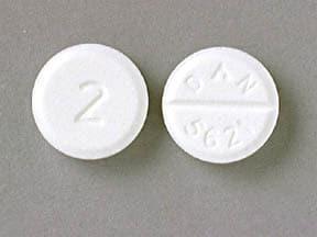 diazepam 2 mg tablet