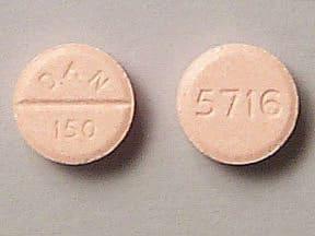 amoxapine 150 mg tablet