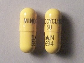 minocycline 50 mg capsule