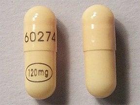 Verelan 120 mg capsule,extended release