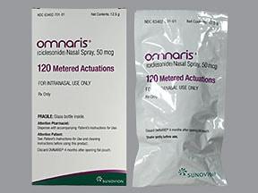 Omnaris 50 mcg nasal spray