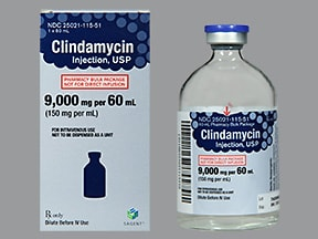 clindamycin 150 mg/mL injection solution